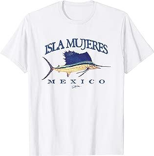 Isla Mujeres, Mexico, Vintage Sailfish T-Shirt
