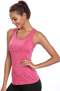 Joyshaper Compression Vest Women Tank Top Quick Dry Fit Sweat Shirt T-Shirt Tee Activewear Sleeveless Sports Workout Athle...