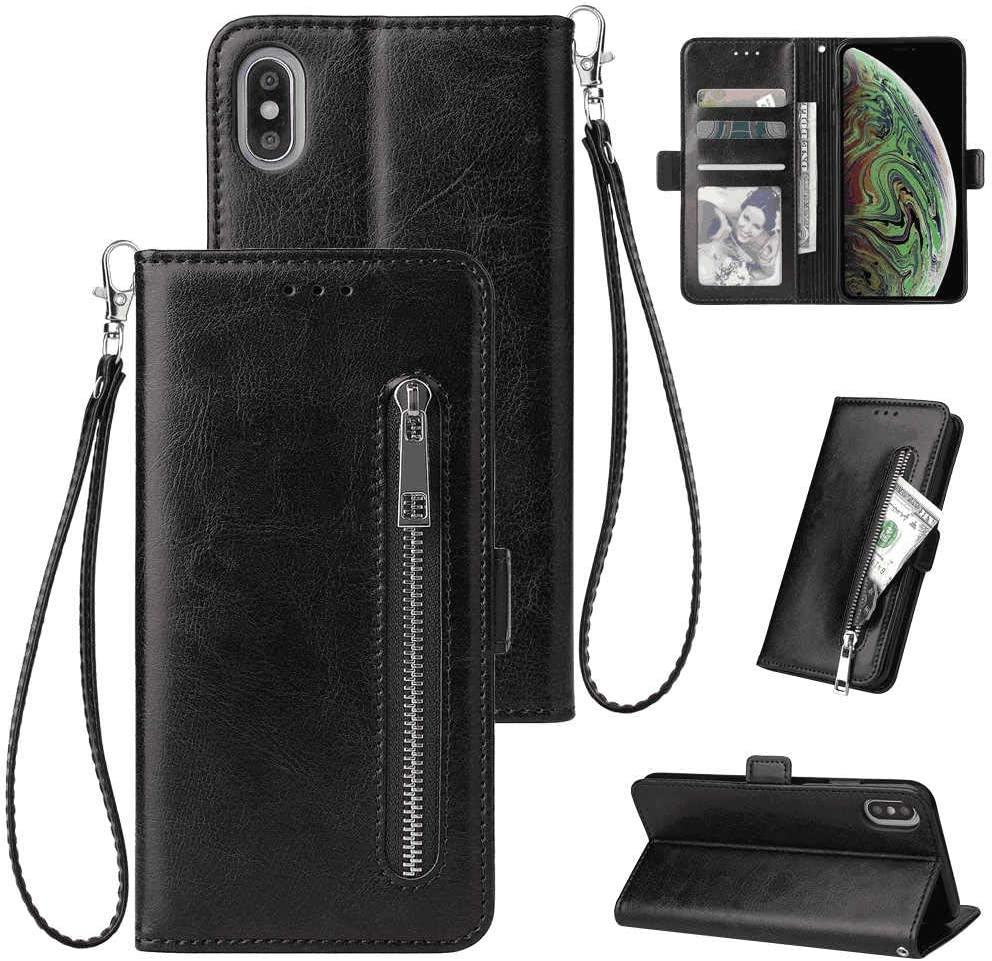 Cover for Leather Cell Phone case Kickstand Card Holders Luxury Business Flip Cover KopooaP iPhone 11 Pro Flip Case