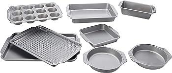 Farberware Nonstick 10-Pieces Bakeware Set