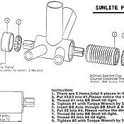 Sunlite BB Cup Set Sealed Bb Set Sunlt 1.37x24 Sealed Mech Eng