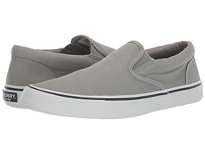 Sperry Striper II Slip-On Sneaker (SW Grey) Men