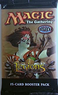 1 (One) Pack of Magic the Gathering MTG LEGIONS Booster Pack (15 Cards)
