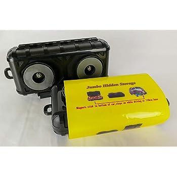 Jumbo - Caja magnética para guardar llaves, dinero, para coche o furgoneta: Amazon.es: Coche y moto