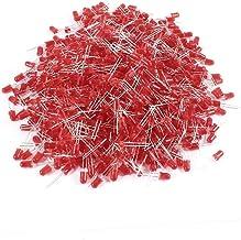 X-DREE 1000 Pcs 5mm Dia Round Head Red Light Emitting Diode LED Bulb Lamp (7cd52a9c-a222-11e9-8d7c-4cedfbbbda4e)