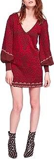 Women's Musics & Lyrics Printed Mini Dress