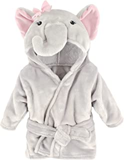Hudson Baby Szlafroki Uniseks - niemowlęta Hudson Baby Unisex Baby Plush Pool and Beach Robe Cover-ups, Pretty Elephant