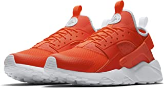 Men's Air Huarche Run Ultra Orange/White 819685-602 (Size: 10.5)