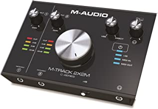 m-audio m-track 2x2 setup mac