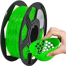 YOYI TPU 3D Printer Filament, Flexible Filament 1.75mm,100% Virgin Raw Material,0.8KG Spool,Dimensional Accuracy +/- 0.03 mm (Green)