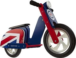 Kiddimoto Balance Bike - Retro Moped Wooden (Ages 2-5)