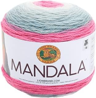 Lion Brand Yarn 525-201 Mandala Yarn, Unicorn,