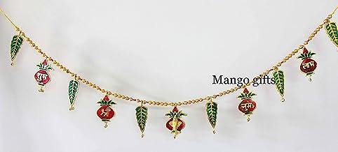 Mango Gifts Ganpati Shubh Labh Bandanwar Door Hanging Toran 33 Inches Approx