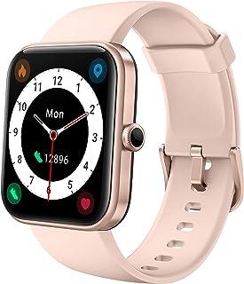 """LIFEBEE Smartwatch, 1.69"""" Reloj Inteligente Hombre Mujer con Alexa Integrada, Pulsómetro, Monitor de Oxígeno de Sangre, Mo..."""