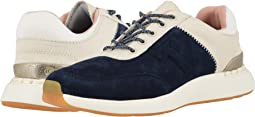 Navy Suede/Canvas
