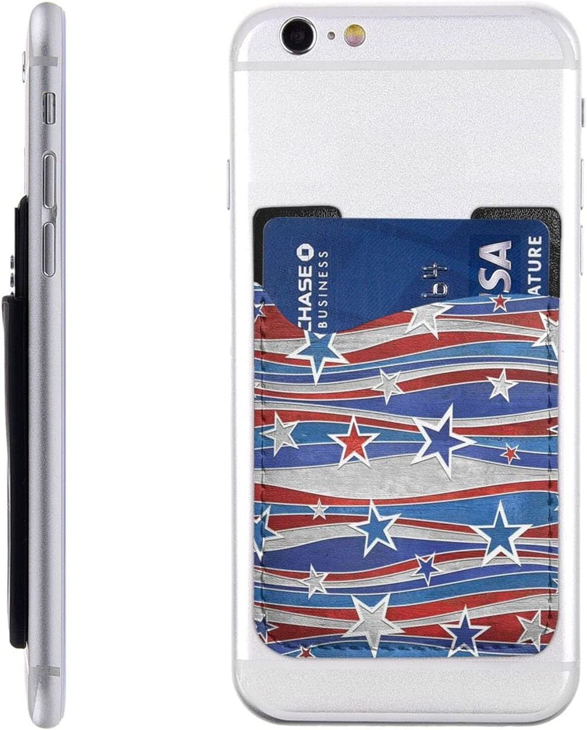 Patriotic Max 68% OFF Stars Strips Independence Day P Cell Card Phone Holder store