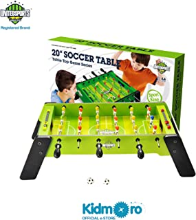 United Sports Wooden Soccer or Football Table Game, 20-inches, Soccer Game Series