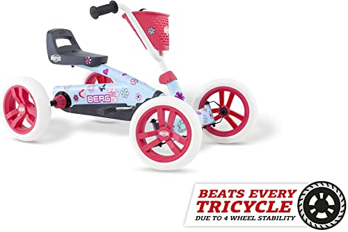 Berg Pedal Car Buzzy Bloom | Pedal Go Kart, Ride On Toys for Boys and Girls, Go Kart, Toddler Ride on Toys, Outdoor T...