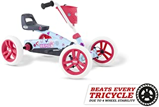 Berg Pedal Car Buzzy Bloom   Pedal Go Kart, Ride On Toys for Boys and Girls, Go Kart, Toddler Ride on Toys, Outdoor Toys, Beats Every Tricicle, Adaptable to Body Lenght, Go Cart for Ages 2-5 Years