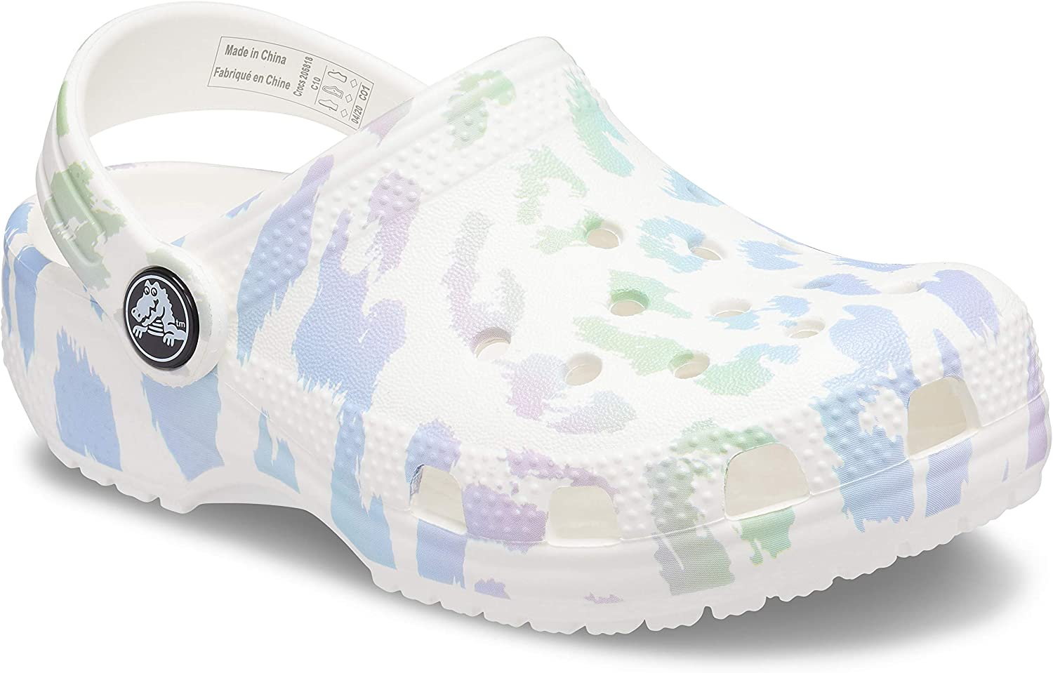 Slip on Shoes for Boys and Girls Crocs Unisex-Child Kids Classic Animal Print Clog