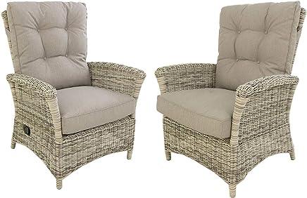 Amazon.es: sillon reclinable - Ratán / Muebles: Hogar y cocina