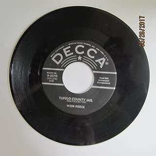 Webb Pierce - Tupelo County Jail / Falling Back To You (7