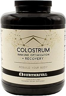Surthrival Colostrum Powder, Sourced in USA, 2 Kilo (4.4 lbs)