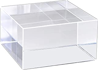 Mirart Clear Acrylic Cube (3-3/4