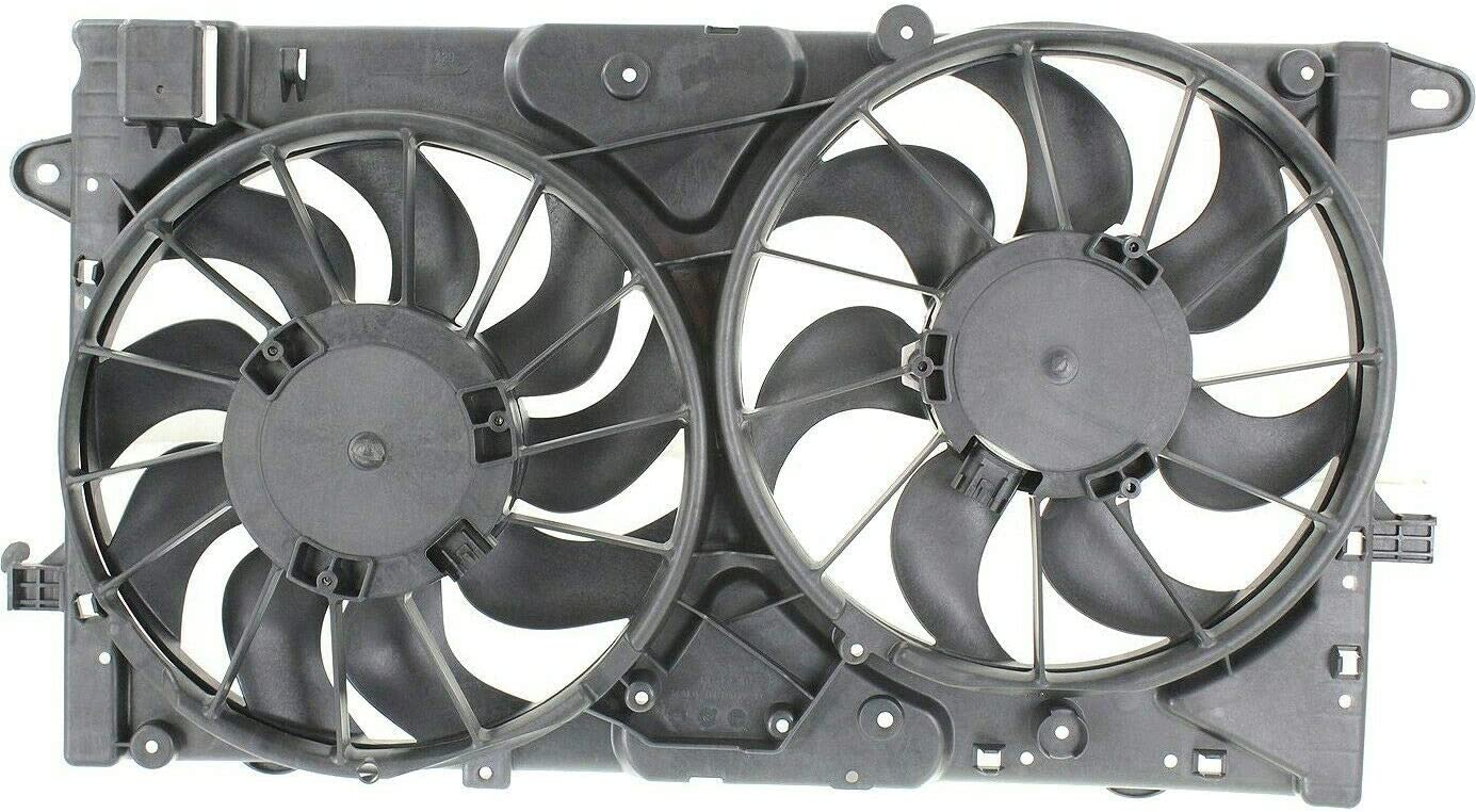 SCKJ Radiator Dual Cooling Fan Milwaukee Mall Brand Assembly with trend rank Compatible