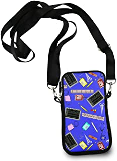 KYWYN Fashion Crossbody Bag, Hospital Nurse Theme Royal Blue, Women's Cell Phone Wallet Purse for Shopping Dating Cycling Traveling - with Adjustable Straps