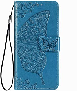 FanTing Case for Motorola Moto E7 Plus, Wallet Flip Cover with Mobile Phone Holder and Card Slot,Magnetic PU leather walle...
