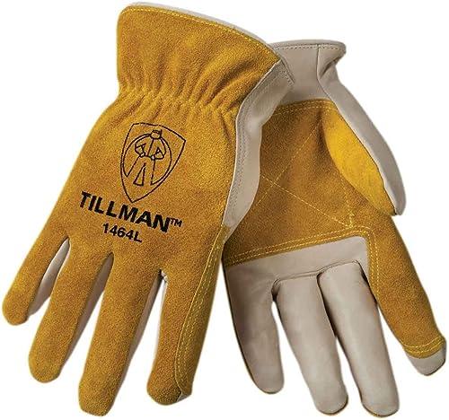 discount Tillman 1464 Top Grain Cowhide/Split Drivers Gloves - lowest Large (Original outlet sale Version) (Original Version) outlet sale
