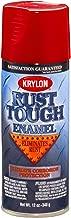 Krylon K09230007 'Rust Tough' Cherry Red Rust Preventive Enamel - 12 oz. Aerosol