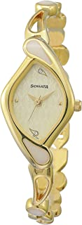 Sonata Sona Sitara Analog White Dial Women's Watch -NK8073YM01