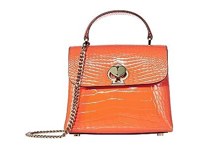 Kate Spade New York Romy Mini Top-Handle (Fire Lily) Handbags
