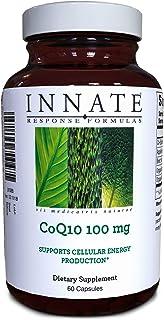 INNATE Response Formulas, CoQ10 100 mg, Energy Support Formula, 60 Capsules (60 Servings)