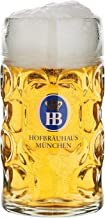 HB Hofbräuhaus München tysk ölmugg München HB glasmugg 0,5 liter King Werk KI 1000062
