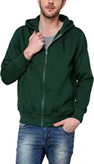 Casual Tees Men's Double Hooded Warm Fleece Jacket