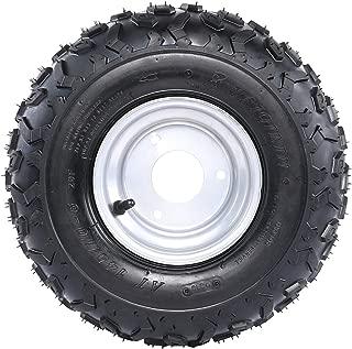 ZXTDR ATV Go Kart Tires 145/70-6 with 6 inch Wheels Rims