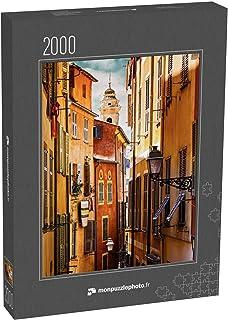 monpuzzlephoto Puzzle 2000 pièces Ancien bâtiment dans la Vieille Ville de Nice, Côte d'Azur, France - Puzzles Classiques ...