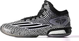 Adidas Mens Crazy Light Boost (12, White/Silver/Black (S85472))