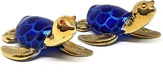 glass turtle figurines