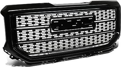 DNA MOTORING GRLDDENL-GMCSIE16-BK Black ABS Front Bumper Grille [for 16-18 GMC Sierra 1500]