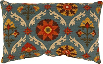 Pillow Perfect Mayan Medallion Rectangular Throw Pillow, Adobe