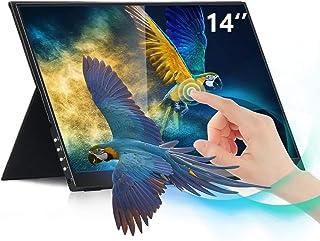 【Last 10 Pcs】14 Inch Portable Touchscreen Monitor LG IPS Panel 1080P Portable Monitor SRGB100% HDR400 FreeSync 8bit Comput...