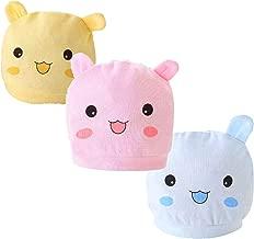 L'imarci Baby Infant Newborn Beanie Cap 100% Cotton Pack of 3pcs Warm Cute Adorable Cartoon Anime