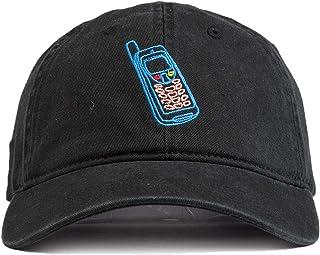 778bf421e75 URBAN MONKEY Unisex Cell Phone Dad Cap-The Nostalgia Collection-Free Size,  100