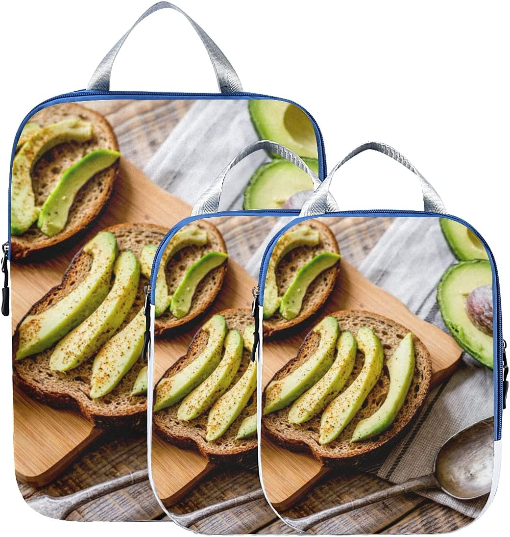 Packing Cube Sets Fragrant And Pa Limited Special Price Attractive Compression Avocado New product! New type