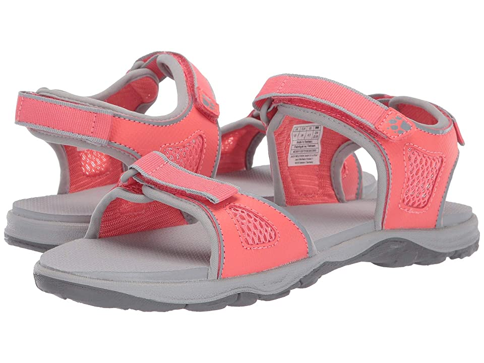Jack Wolfskin Kids Acora Beach Sandal (Toddler/Little Kid/Big Kid) (Sugar Coral) Girls Shoes