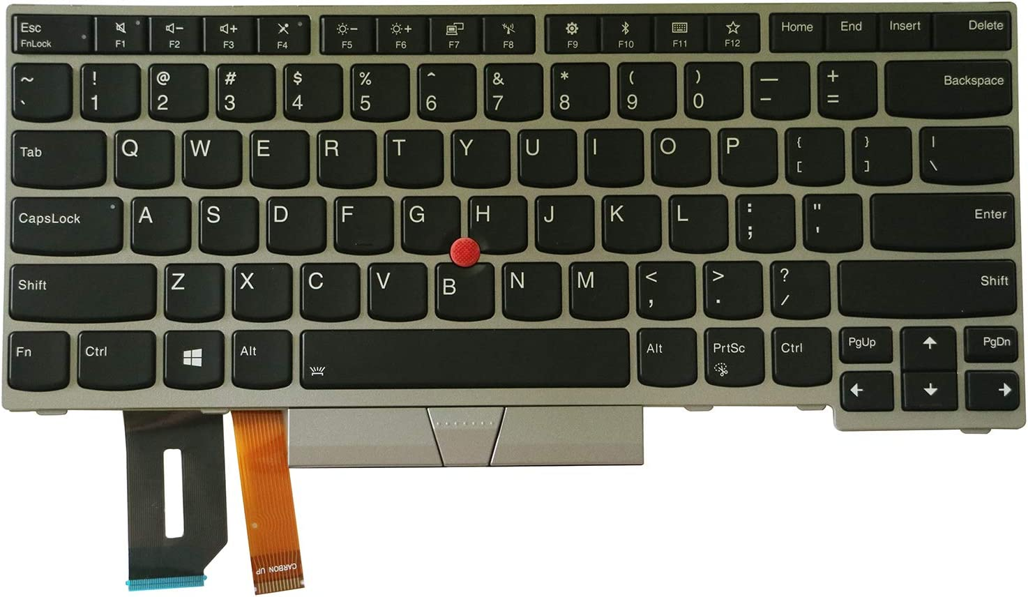 AUTENS Replacement Manufacturer direct delivery US Keyboard for E490 Lenovo T490 San Francisco Mall L49 ThinkPad
